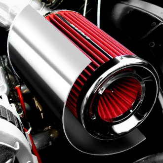 ASpectre Performance® - Air Intake Kit with Red Filter and Heat Shield