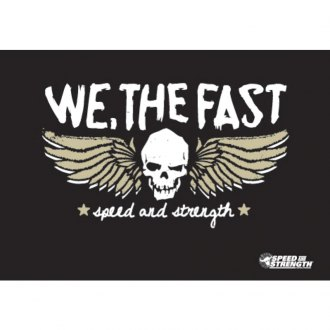Speed and Strength® - We, The Fast™ Vinyl Banner