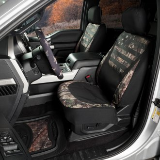 SPG® - Mossy Oak™ Patriotic Country / Black Camo Seat Cover