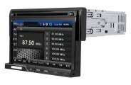 "SPL® -  Single DIN Multimedia Source Unit  with Detachable 7"" LCD Touch Screen"