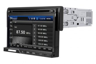 "SPL® - Single DIN DVD/CD/SD/USB Multimedia Source Unit with Detachable 7"" LCD Touch Screen"