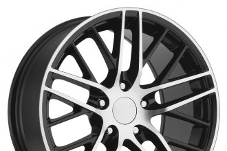 SPORT CONCEPTS® - 862 Gloss Black with Machined Face