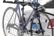 Image may not reflect your exact vehicle! SportRack® - 3-Bike Trunk Mount Rack