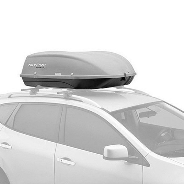Image may not reflect your exact vehicle! SportRack® - Skyline Cargo Box