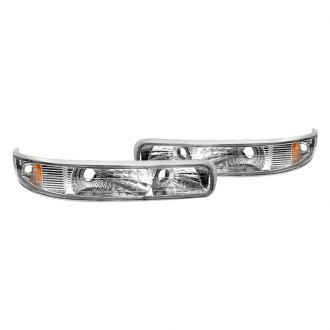 Spyder® - Chrome Euro Bumper Lights