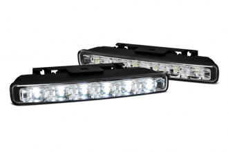 Spyder® - Chrome LED Daytime Running Lights - 6 LEDs