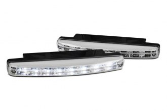 Spyder® CBL-DRL-8LED-C - Chrome LED Daytime Running Lights