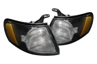 Spyder® - Black Corner Lights with Amber Reflectors