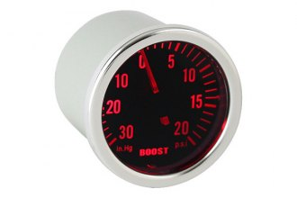 Spyder® - Boost Gauge with Smoke Gauge 7 Color Display