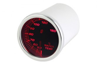 Spyder® - Water Temp Gauge with Smoke Gauge 7 Color Display
