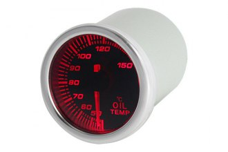 "Spyder® - 2.1"" Oil Temp Gauge with Smoke Gauge 7 Color Display"
