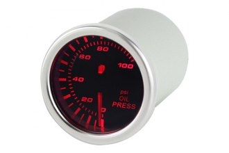 Spyder® - Oil Pressure Gauge with Smoke Gauge 7 Color Display