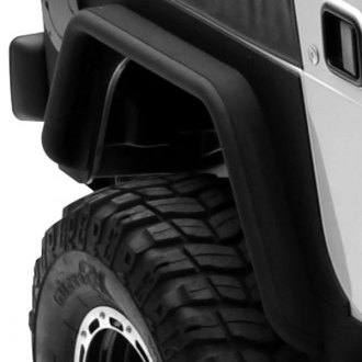 Spyder® - Pocket Style Textured Front and Rear Fender Flares