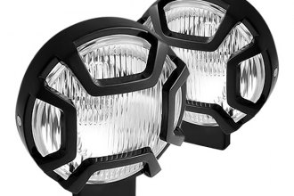 "Spyder® - 5"" Black Fog Lights with Switch"