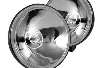"Spyder® - 6"" Chrome Euro Fog Lights with Switch"