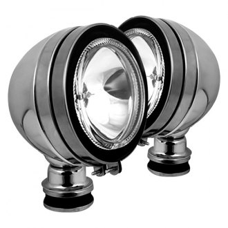 "Spyder® - 5"" Chrome Halo Fog Lights with Switch"