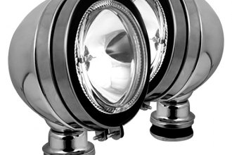 Spyder® - Chrome Halo Fog Lights
