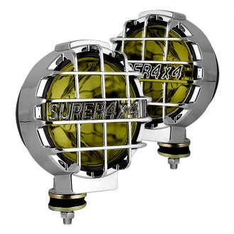 "Spyder® - 6.5"" Yellow Euro Fog Lights with Switch"
