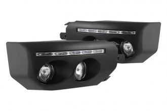 Spyder® - Black Fog Lights with LEDs
