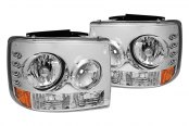 Spyder® - Chrome Euro Headlight