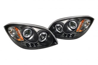 Spyder® 444-CCOB05-HL-BK - Black Halo Projector Headlights with LEDs