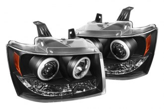 Spyder® 444-CSUB07-CCFL-BK - Black CCFL Halo Projector Headlights with LEDs