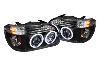 Spyder® - Black CCFL Halo Projector Headlights