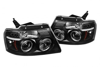 Spyder® 444-FF15004-HL-G2-BK - Black Halo Projector Headlights G2 with LEDs