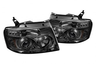 Spyder® - Smoke Halo Projector Headlights with LEDs G2