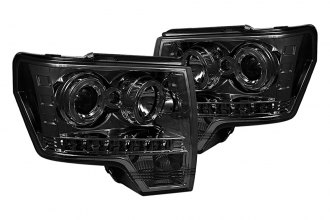 Spyder® - Smoke Halo Projector Headlights with LEDs
