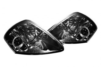 Spyder® PRO-YD-ME00-HL-SMC - Smoke Halo Projector Headlights