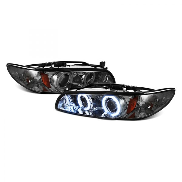 Spyder® - Black CCFL Halo Projector Headlights - 2/4DR