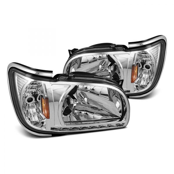 Spyder® - Chrome Crystal Headlights