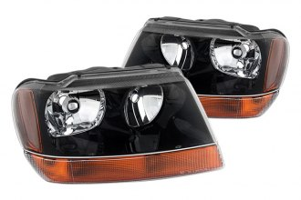 Spyder® - Black Euro Headlights