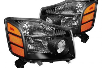Spyder® - Black OE Style Headlights with Amber Reflectors