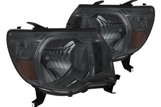 Spyder® - Smoke Euro Headlights with Amber Reflectors