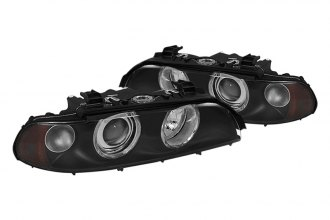 Spyder® - Black Halo Projector Headlights G2
