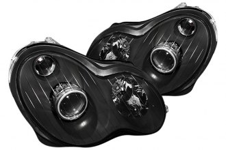 Spyder® - Black Halo Projector Headlights