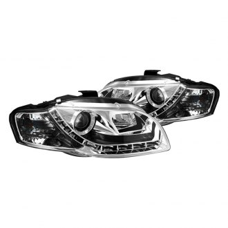 Spyder® - Chrome Projector Headlights with LEDs