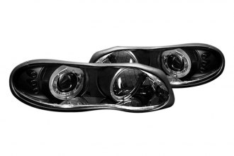 Spyder® PRO-YD-CCAM98-HL-BK - Black Halo Projector Headlights with LEDs