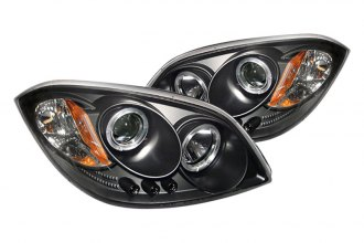 Spyder® PRO-YD-CCOB05-HL-BK - Black Halo Projector Headlights with LEDs