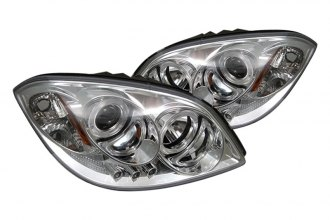 Spyder® PRO-YD-CCOB05-HL-C - Chrome Halo Projector Headlights with LEDs
