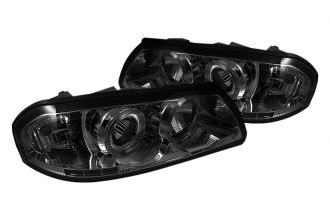Spyder® PRO-YD-CHIP00-HL-SM - Smoke Halo Projector Headlights with LEDs