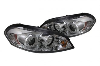 Spyder® PRO-YD-CHIP06-HL-C - Chrome Halo Projector Headlights with LEDs
