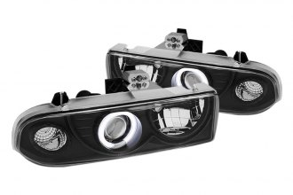 Spyder® PRO-YD-CS1098-CCFL-BK - Black CCFL Halo Projector Headlights