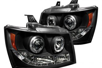 Spyder® PRO-YD-CSUB07-HL-BK - Black Halo Projector Headlights with LEDs