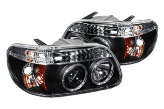 Spyder® PRO-YD-FEXP95-HL-1PC-BK - Black Halo Projector Headlights with LEDs