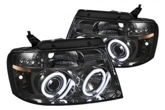 Spyder® PRO-YD-FF15004-CCFL-G2-SM - Smoke CCFL Halo Projector Headlights with LEDs G2