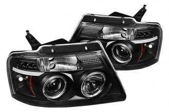 Spyder® PRO-YD-FF15004-HL-G2-BK - Black Halo Projector Headlights with LEDs G2