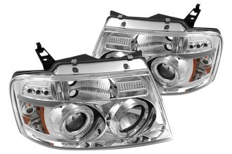 Spyder® PRO-YD-FF15004-HL-G2-C - Chrome Halo Projector Headlights with LEDs G2